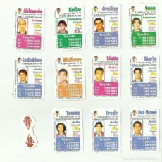 Cromos de Fútbol: FUTBOLÍDER. EQUIPO COMPLETO REAL SPORTING. TEMPORADA 1997-98. MAGB. Lote 79478729