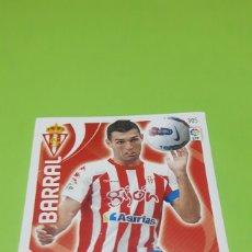 Cromos de Fútbol: CROMO PANINI ADRENALYN XL - TEMPORADA 11-12 ( 2011-2012 ) - SPORTING DE GIJON - BARRAL. Lote 79574887