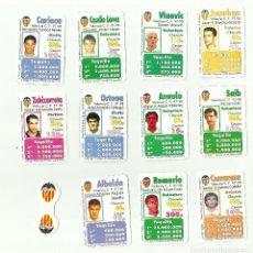 Cromos de Fútbol: FUTBOLÍDER. EQUIPO COMPLETO VALENCIA CF. TEMPORADA 1997-98. MAGB. Lote 79588237