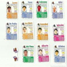 Cromos de Fútbol: FUTBOLÍDER. EQUIPO COMPLETO REAL SOCIEDAD. TEMPORADA 1997-98. MAGB5. Lote 79588329
