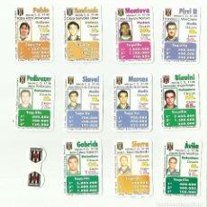 Cromos de Fútbol: FUTBOLÍDER. EQUIPO COMPLETO UD MERIDA. TEMPORADA 1997-98. MAGB. Lote 79588377