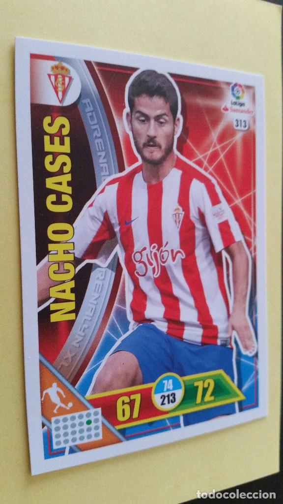 Cromos de Fútbol: ADRENALYN XL 2016 16 - 2017 17 - Nº 313 NACHO CASES - REAL SPORTING - Foto 1 - 210062501