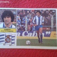 Cromos de Fútbol: CROMO DE FÚTBOL TEMPORADA 1982 1983 82 83 ED. ESTE NUNCA PEGADO CANITO ESPAÑOL BAJA VER FOTO/S LJ. Lote 80077141