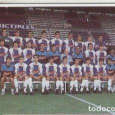 Cromos de Fútbol: CROMOS: SUPER FUTBOL LIGA 96: R.C.D.ESPAÑOL: FOTO PLANTILLA. Lote 80149125