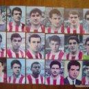 Cromos de Fútbol: ATLETICO MADRID - 18 CROMOS DIFERENTES - COLECCIÓN TABACOS FEDORA 1964 - HAY LISTADO Y VENDO SUELTOS. Lote 80378785