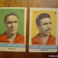 Cromos de Fútbol: TAMAYO Y MESA ( MURCIA ) - CROMOS AZAFRAN SALSAFRAN - LIGA 44/45 1944/45. Lote 80385269
