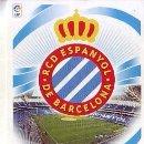 Cromos de Fútbol: ESTE 2012 2013 - RCD ESPANYOL - ESCUDO - NUEVO DE SOBRE. Lote 168521281
