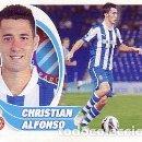 Cromos de Fútbol: ESTE 2012 2013 - RCD ESPANYOL - Nº 14 BIS CHRISTIAN ALFONSO - NUEVO DE SOBRE . Lote 161086086