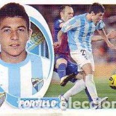 Cromos de Fútbol: ESTE 2012 2013 - MALAGA CF - Nº 10 BIS PORTILLO (COLOCA) - NUEVO DE SOBRE. Lote 187486237