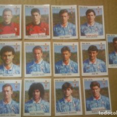 Cromos de Fútbol: PANINI FÚTBOL ESTRELLAS DE LA LIGA 1993-1994 (93/94) LOTE CROMOS REAL CELTA NUNCA PEGADOS. Lote 81113924