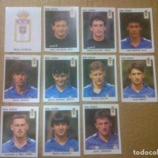 Cromos de Fútbol: PANINI FÚTBOL ESTRELLAS DE LA LIGA 1993-1994 (93/94) LOTE CROMOS REAL OVIEDO, NUNCA PEGADOS. Lote 81116468