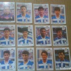 Cromos de Fútbol: PANINI FÚTBOL ESTRELLAS DE LA LIGA 1993-1994 (93/94) LOTE CROMOS R.C.D.LA CORUÑA, NUNCA PEGADOS. Lote 81116820