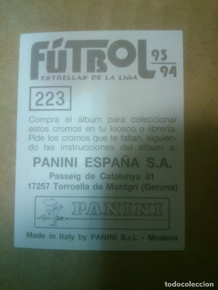 Cromos de Fútbol: Panini Fútbol Estrellas de la Liga 1993-1994 (93/94) Lote cromos RACING DE SANTANDER, Nunca pegados - Foto 2 - 81117156