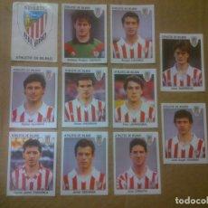 Cromos de Fútbol: PANINI FÚTBOL ESTRELLAS DE LA LIGA 1993-1994 (93/94) LOTE CROMOS ATHLETIC DE BILBAO, NUNCA PEGADOS. Lote 81117700