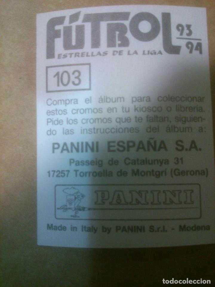 Cromos de Fútbol: Panini Fútbol Estrellas de la Liga 1993-1994 (93/94) Lote cromos VALENCIA C.F, Nunca pegados - Foto 2 - 81117956