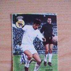 Cromos de Fútbol: CROMO FHER-DISGRA. LIGA 1967-1968 (67-68). ZOCO (REAL MADRID). CASILLA DOBLE. Lote 81119604