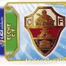 Cromos de Fútbol: ESTE 2011 2012 - ELCHE C.F. - ESCUDO - NUEVO DE SOBRE. Lote 168521714