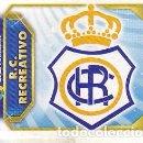 Cromos de Fútbol: ESTE 2011 2012 - R.C. RECREATIVO - ESCUDO - NUEVO DE SOBRE. Lote 168521658