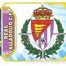 Cromos de Fútbol: ESTE 2011 2012 - REAL VALLADOLID C.F. - ESCUDO - NUEVO DE SOBRE. Lote 168521689