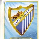 Cromos de Fútbol: ESTE 2011 2012 - MALAGA CF - ESCUDO - NUEVO DE SOBRE. Lote 168521530