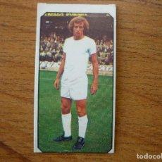 Cromos de Fútbol: CROMO LIGA ESTE 77 78 ULTIMO FICHAJE Nº 15 WOLF (REAL MADRID) - NUNCA PEGADO - 1977 1978 . Lote 82507340