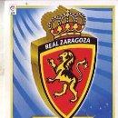 Cromos de Fútbol: ESTE 2011 2012 - REAL ZARAGOZA - ESCUDO - NUEVO DE SOBRE. Lote 168521617