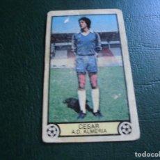 Cromos de Fútbol: CESAR ALMERIA ED ESTE 79 80 CROMO FUTBOL LIGA 1979 1980 - DESPEGADO - 59. Lote 175647190