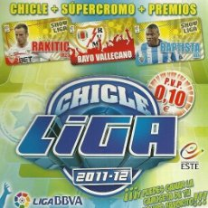 Cromos de Fútbol: OZIL (REAL MADRID) - CROMO CHICLE LIGA 2011-2012 PANINI - LIGA 11-12. Lote 82976852