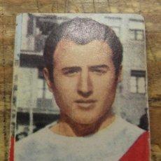 Cromos de Fútbol: FHER 68/69 BORDONS RAYO VALLECANO CROMO RECUPERADO 1968/1969,NUNCA PEGADO. Lote 83109052
