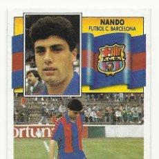Cromos de Fútbol: CROMO DE NANDO ESTE 90/91 RECUPERADO. Lote 83577824