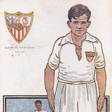 Cromos de Fútbol: CROMO FUTBOL HERMINIO SEVILLA CHOCOLATES AMATLLER. Lote 84353544
