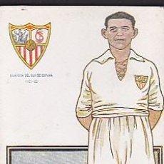 Cromos de Fútbol: CROMO FUTBOL BARRAGAN SEVILLA CHOCOLATES AMATLLER. Lote 84353732