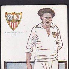 Cromos de Fútbol: CROMO FUTBOL SPENCER SEVILLA CHOCOLATES AMATLLER. Lote 84353800