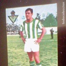 Cromos de Fútbol: CROMO SIN PEGAR NUNCA FUTBOL LIGA 1967 68 1968 67 ED FHER BETIS LANDA CROMO DOBLE (*). Lote 84549308