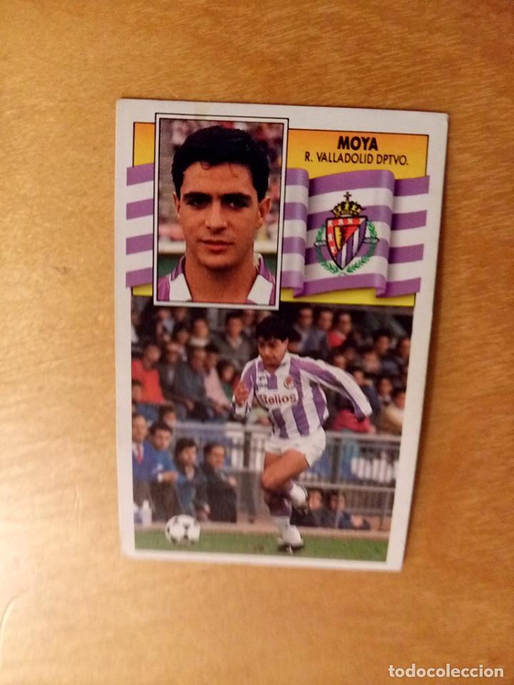 EDICIONES ESTE 1990 1991 - 90 91 - MOYA - REAL VALLADOLID (Coleccionismo Deportivo - Álbumes y Cromos de Deportes - Cromos de Fútbol)