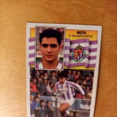 Football Stickers - EDICIONES ESTE 1990 1991 - 90 91 - MOYA - REAL VALLADOLID - 84674220