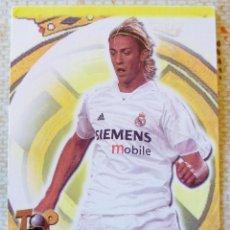 Cromos de Fútbol: 49 - GUTI (REAL MADRID) TOP 6 - MATE - MUNDICROMO 2004 2005. Lote 84831656