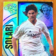 Cromos de Fútbol: 165 - SOLARI (REAL MADRID) SUPERSTAR BRILLO - MUNDICROMO 2004 2005. Lote 84976688