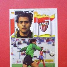 Cromos de Fútbol: BAJA - ALEX - SEVILLA CF - ESTE - 1990 1991 90 91 - CROMOS FUTBOL - DESPEGADO POR ARRIBA. Lote 85046108