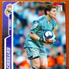 Cromos de Fútbol: 182 - CASILLAS (REAL MADRID) MGK - MEGACRACKS 2005 2006. Lote 85103752