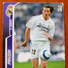 Cromos de Fútbol: 186 - PAVON (REAL MADRID) MGK - MEGACRACKS 2005 2006. Lote 85103896