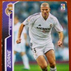 Cromos de Fútbol: 195 - ZIDANE (REAL MADRID) - MGK - MEGACRACKS 2005 2006. Lote 85134812