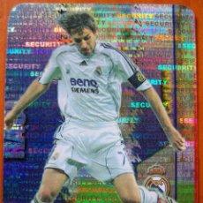 Cromos de Fútbol: 25 - RAUL (REAL MADRID) SECURITY HORIZONTAL MUNDICROMO 07/08 PUNTAS REDONDAS. Lote 85202456