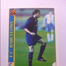 Cromos de Fútbol: 1999-2000 - 486 GABRI - FC BARCELONA - MUNDICROMO. Lote 85242864