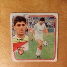 Cromos de Fútbol: EDICIONES ESTE 1989 1990 - 89 90 - NANDO - SEVILLA. Lote 85369652