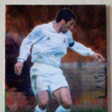 Cromos de Fútbol: 541 - RAUL (REAL MADRID ) M.V.P.2002 MUNDICROMO 2002 2003 BRILLO. Lote 85418436