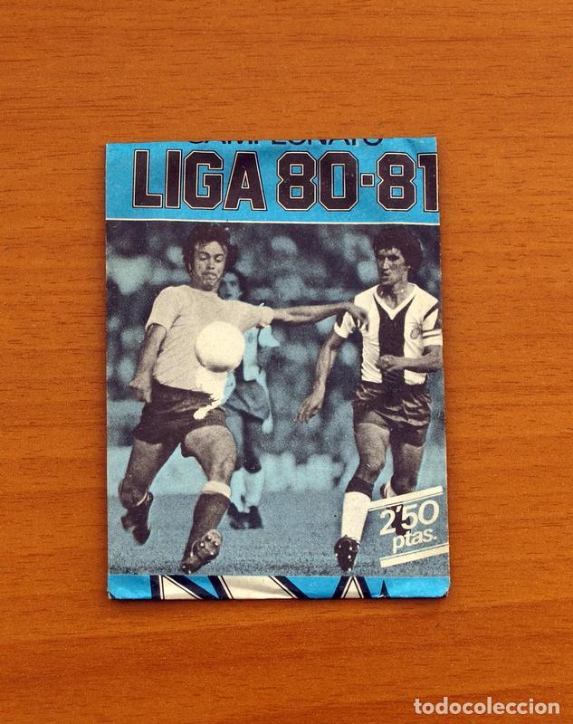 SOBRE SIN ABRIR - EDICIONES ESTE - LIGA 1980-1981, 80-81 - AZUL (Coleccionismo Deportivo - Álbumes y Cromos de Deportes - Cromos de Fútbol)