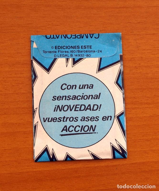 Cromos de Fútbol: Sobre sin abrir - Ediciones ESTE - Liga 1980-1981, 80-81 - Azul - Foto 2 - 1412892