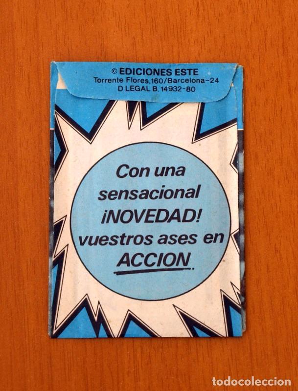 Cromos de Fútbol: Sobre sin abrir - Ediciones ESTE - Liga 1980-1981, 80-81 - Azul - Foto 2 - 2812310