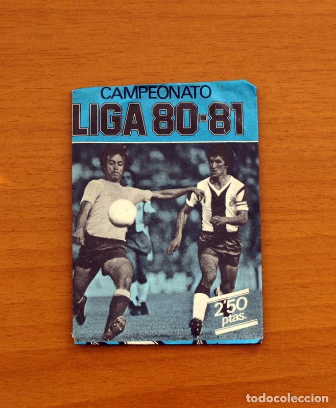 SOBRE SIN ABRIR - EDICIONES ESTE - LIGA 1980-1981, 80-81- AZUL (Coleccionismo Deportivo - Álbumes y Cromos de Deportes - Cromos de Fútbol)